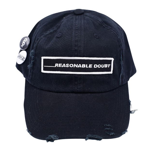 REASONABLE DOUBT DAD HAT - cosign1975