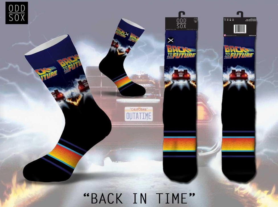 ODDSOX - Back In Time (Sublimated Top/Knitted Bottom) (OSUNITIME)