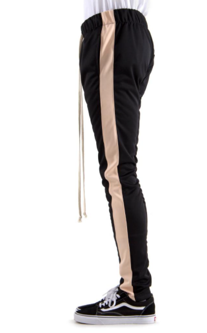 EPTM - TRACK PANTS (EP8245) - BLACK/PEACH