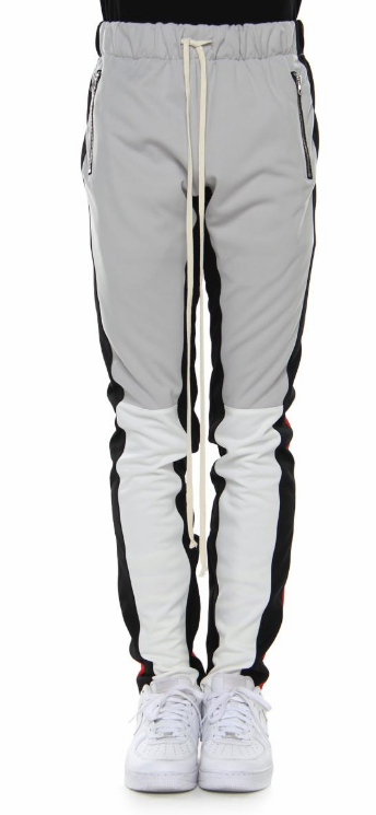 EPTM - V2 TRACK PANTS (EP8622) - BLK/GREY/WHITE