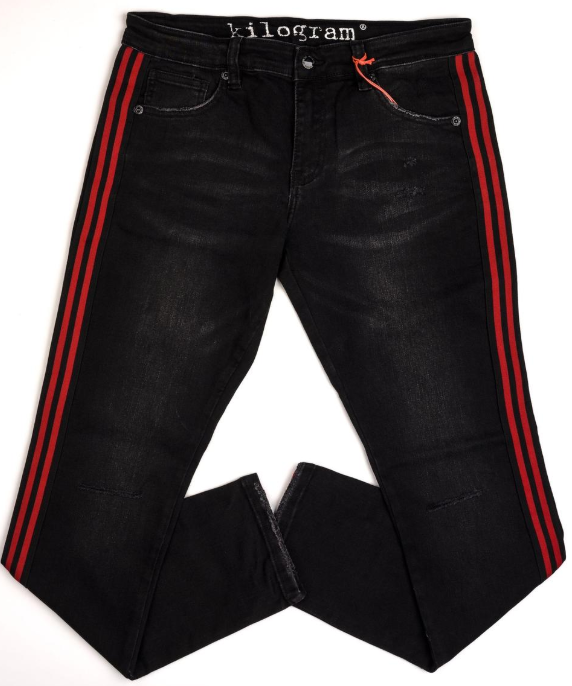 KILOGRAM - Wash Black/Red Stripes (KG2921S)