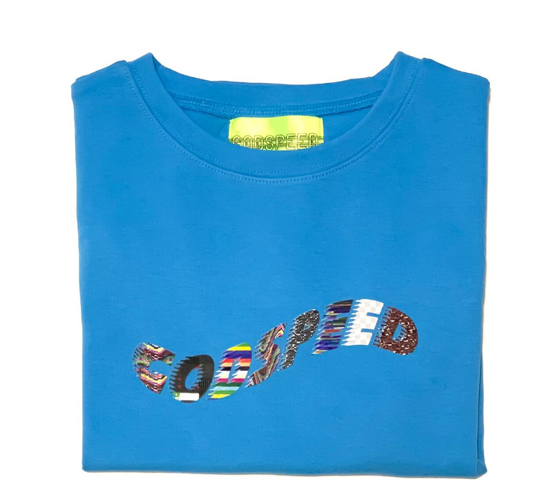 GODSPEED - A.F TOY BLUE T SHIRT 3M REFLECTIVE (A.F TOY BLUE)