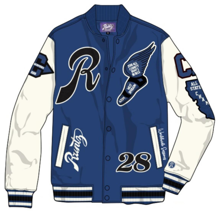 RUNTZ - RUNTZ ALL COUNTY VARSITY JACKET (37345-DRY)