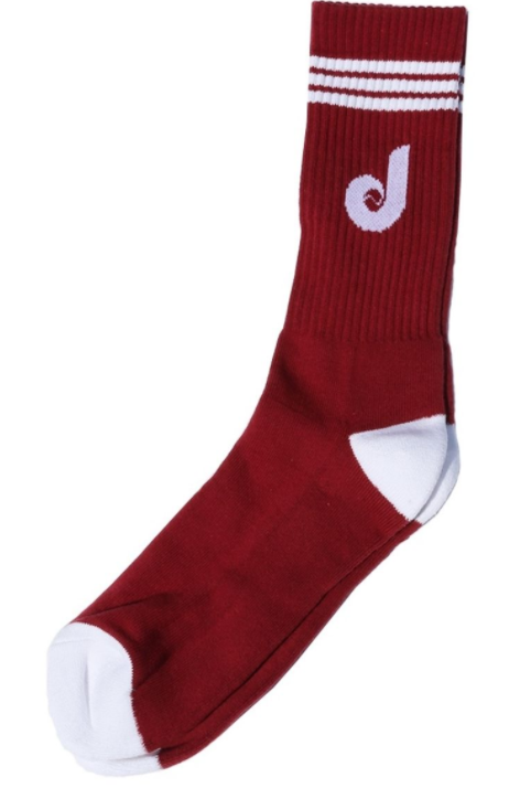 STREET DREAMS - Double Play Socks (DP0707BUR) - BURGANDY