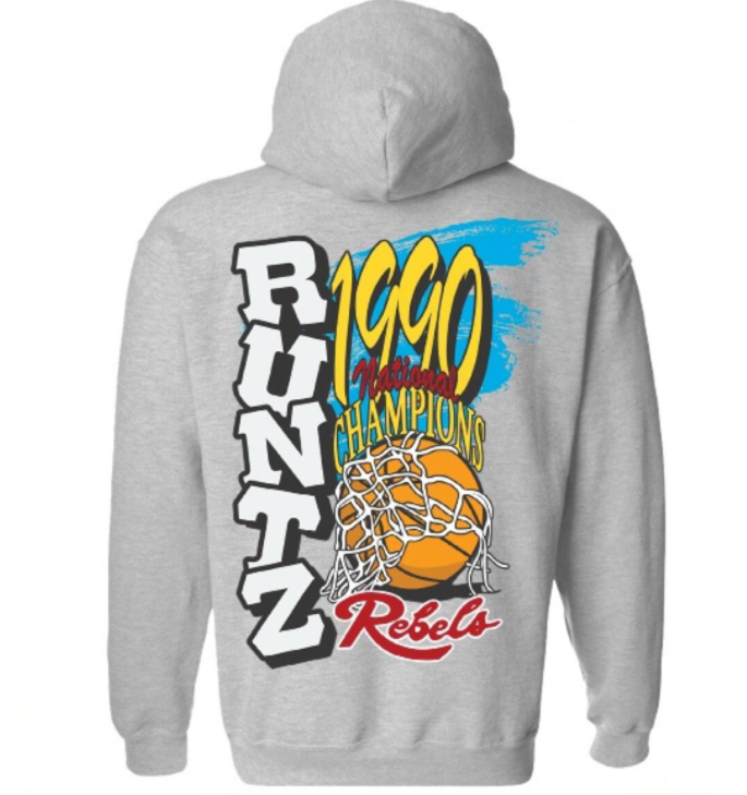 RUNTZ - NATIONAL CHAMPS HOODIE (33578-HTR) - GREY