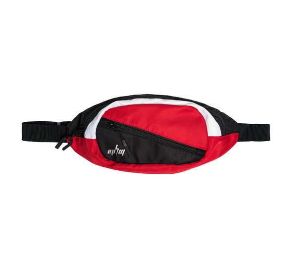 EPTM - COLOR BLOCK CROSS BODY BAG (EP8813) -RED/BLK/WHITE