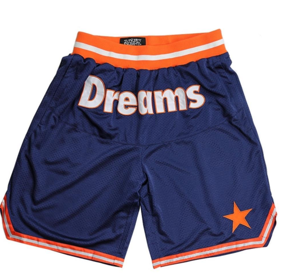 STREET DREAMS  - Triple Play Basketball Shorts (TP0754NVY) - NAVY