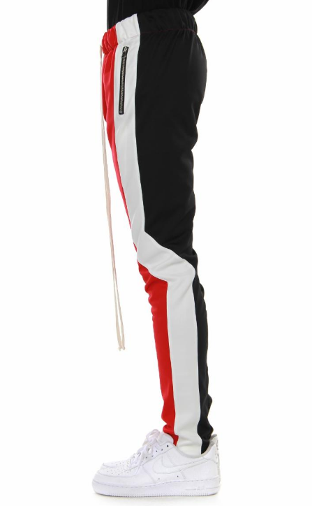 EPTM - OFFSET TRACK PANTS (EP8607) -MULTI - RED