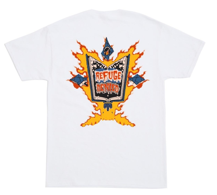 BLEACH - Good Book Tee (White) (INJ-GOOD-TEE-WHT)