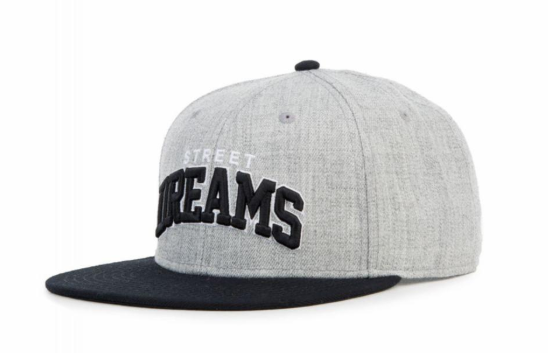 STREET DREAMS - Heisman Snapback (HM0642GRY) - GREY/BLACK
