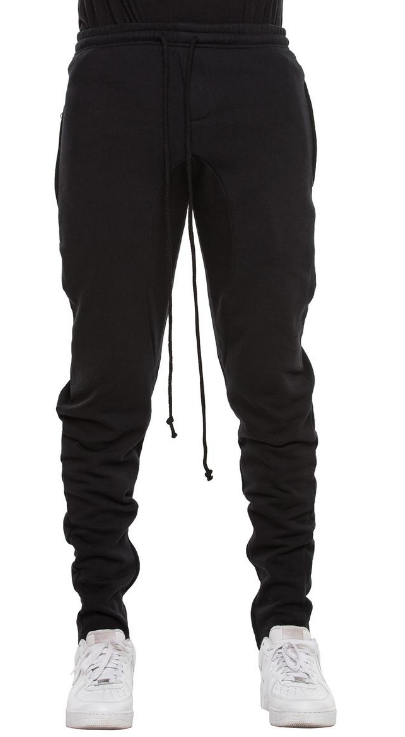 EPTM - GUSSET FLEECE PANTS (EP9129) -BLACK
