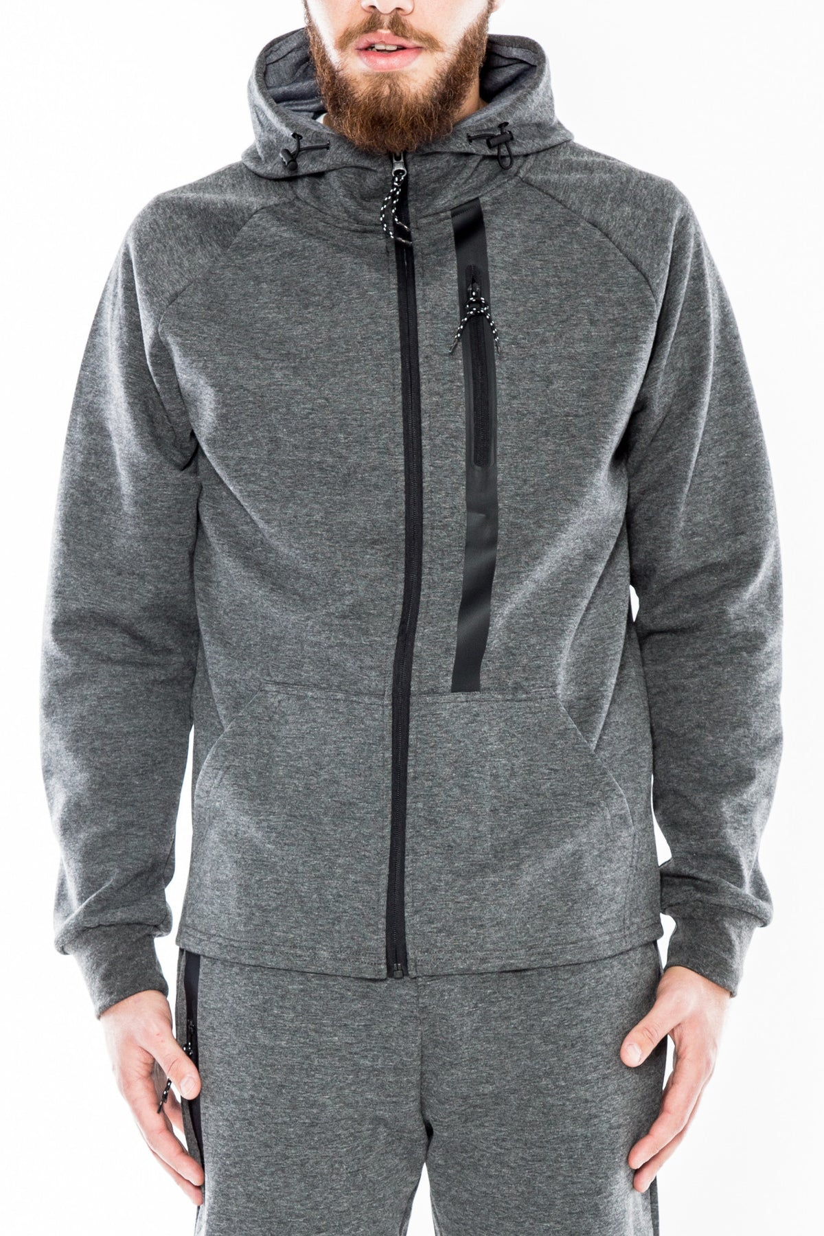 Tech Zip Hood H5051377-GRY - cosign1975