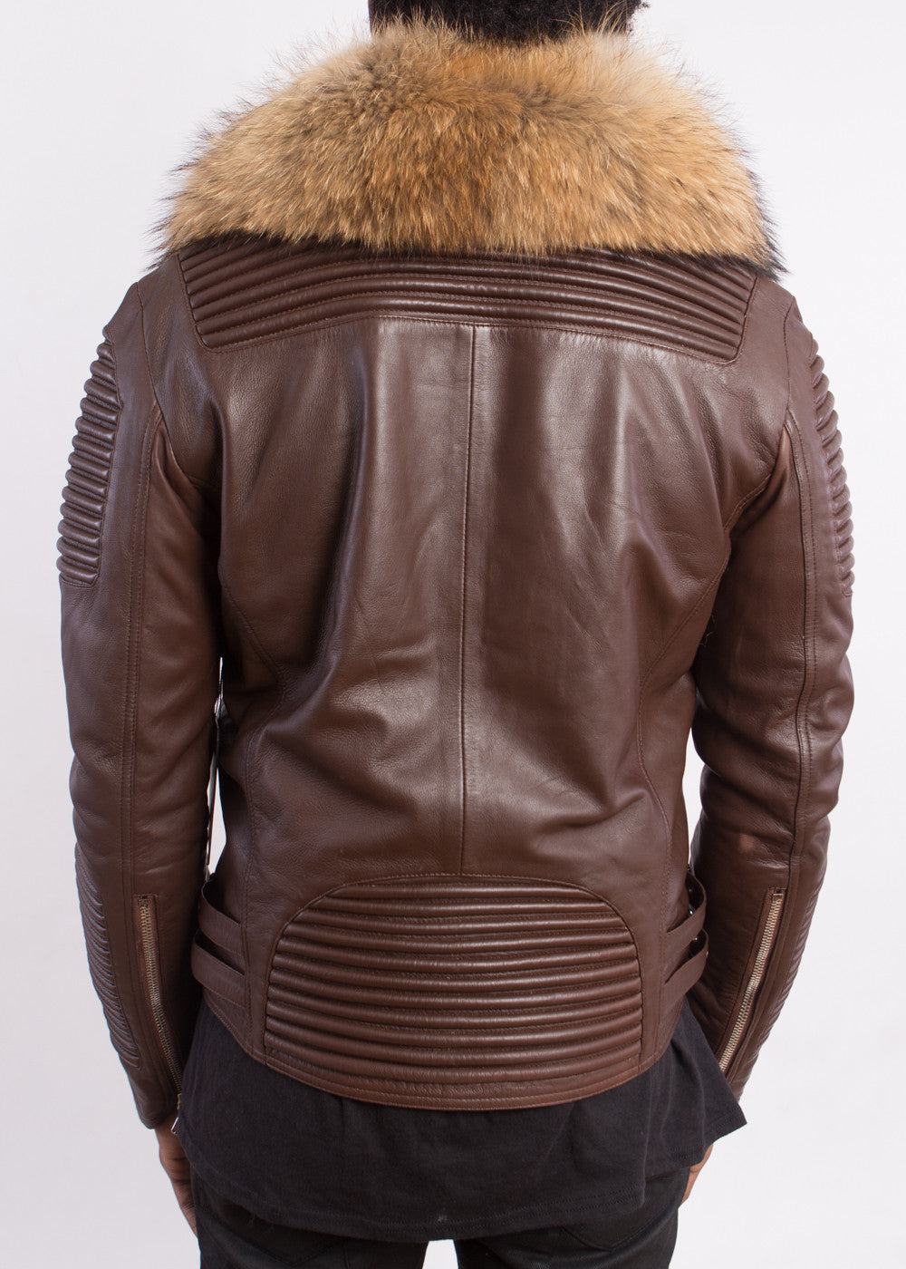 HUDSON 100 % LEATHER WITH FUR (REMOVABLE) - cosign1975