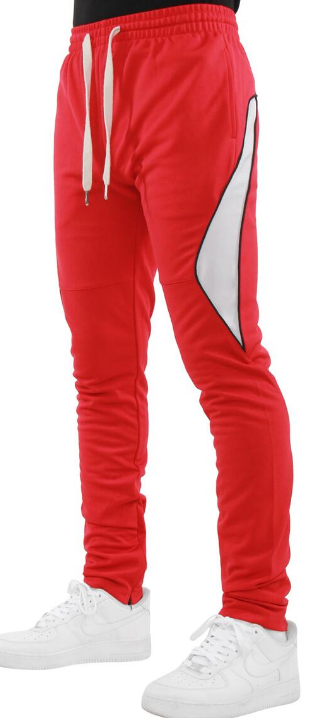 EPTM - HALF PIPING TRACK PANTS (EP9610) - RED