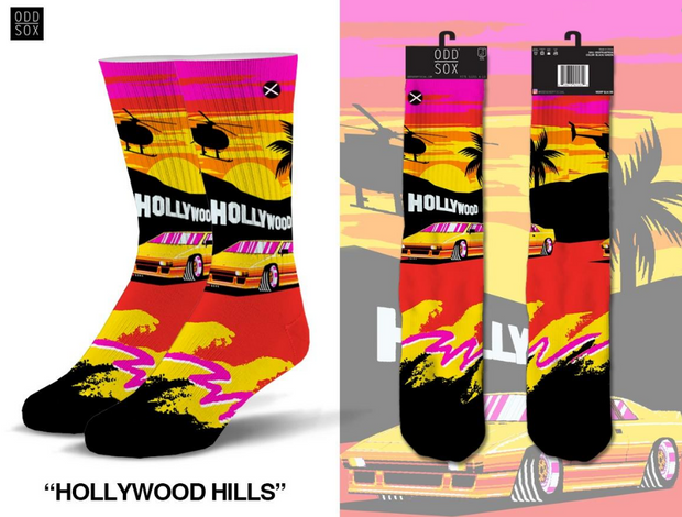 ODDSOX - Hollywood Hills (Knit) (OSHWHILLS)