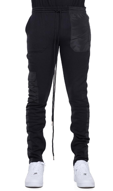 EPTM - HYBRID FLEECE PANTS (EP9290) - BLACK