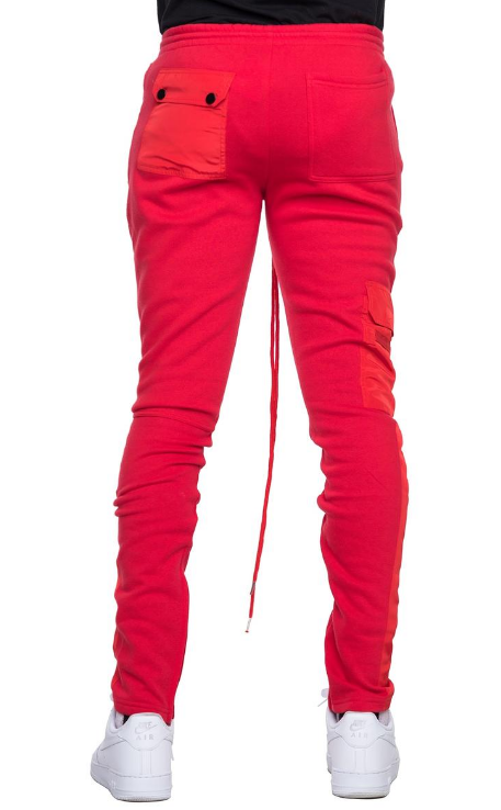 EPTM - HYBRID FLEECE PANTS (EP9296) - RED