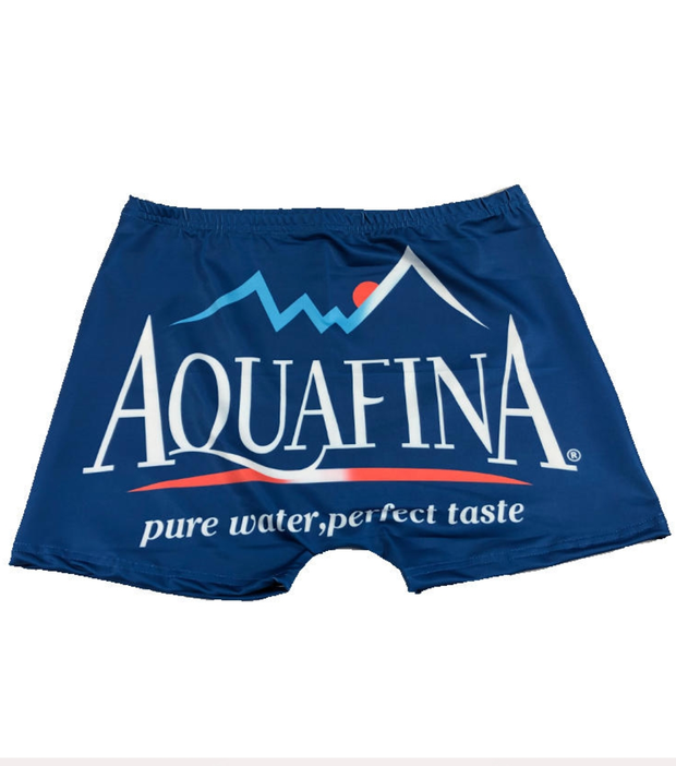 FEMALE SNACK SHORTS - AQUAFINA - BLUE