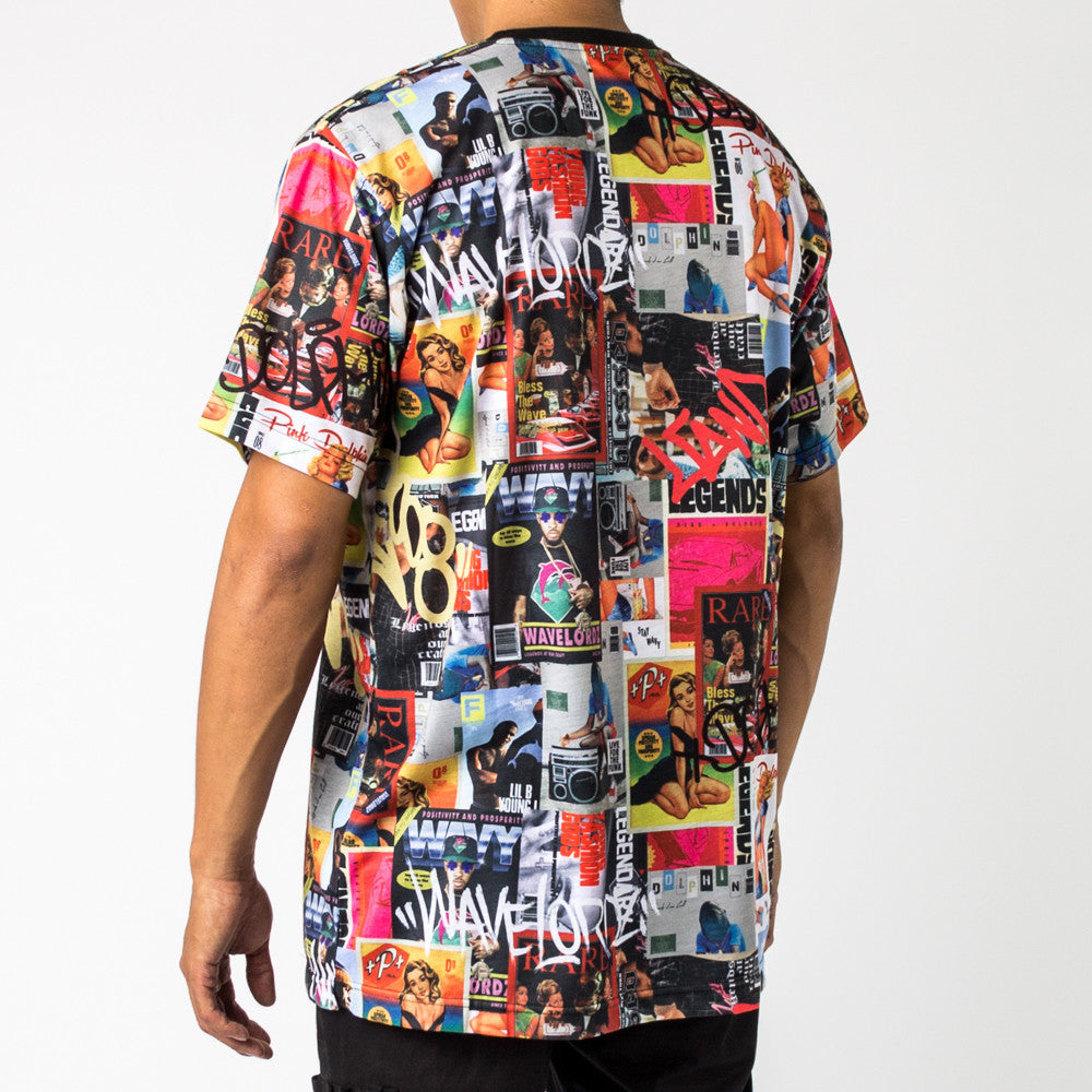 WALLPAPER ALL OVER TEE MULTI - AF11604MAMU - cosign1975