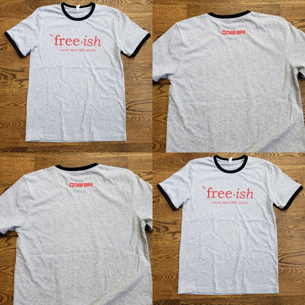 FREE-ISH - COSIGN EDITION - GREY/BLK/RED