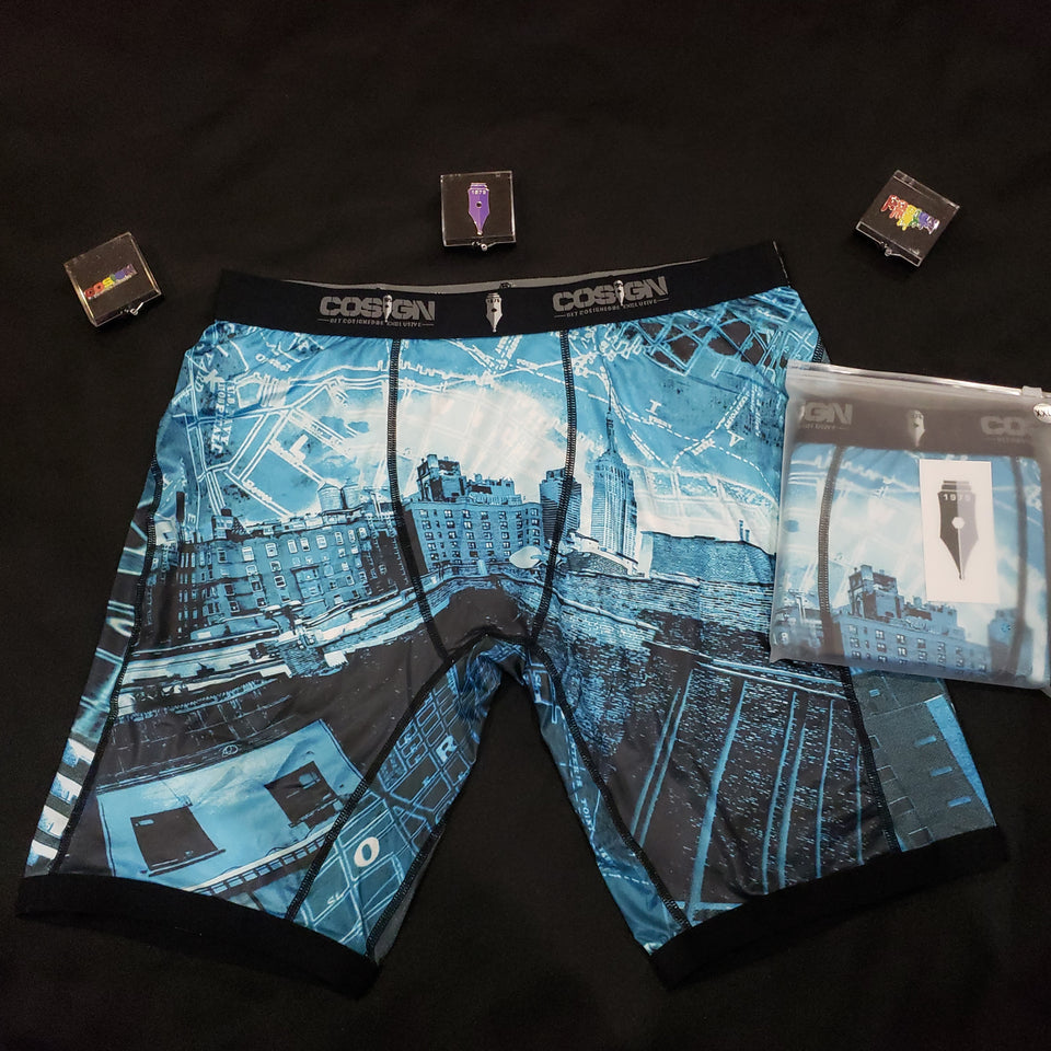 COSIGN1975 BOXERS - BLUE CITY EDITION