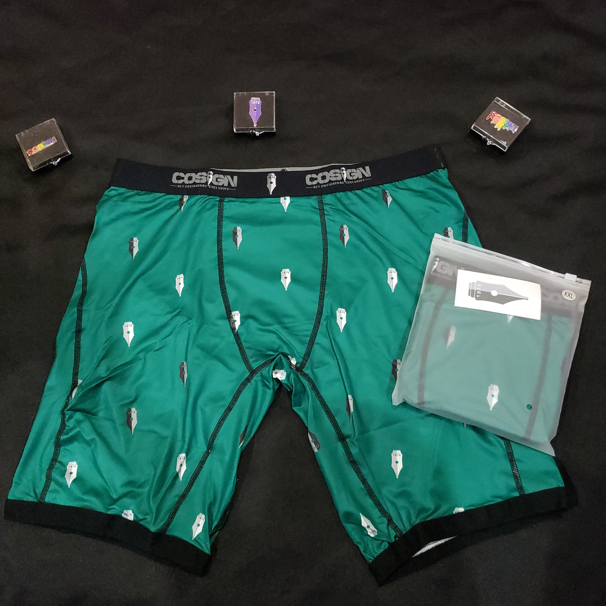 COSIGN1975 BOXERS - GREEN