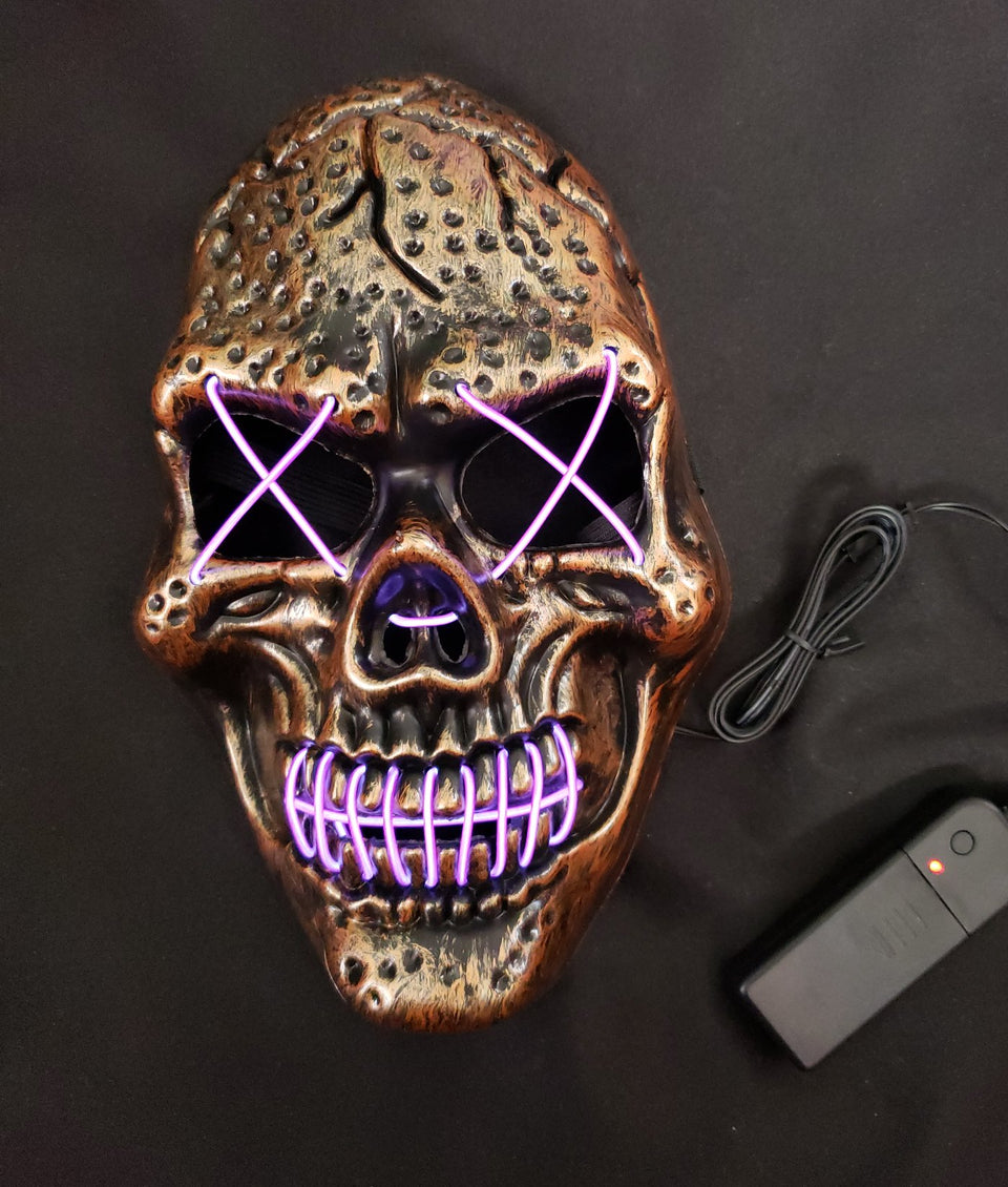 LED MASK - SKULL LIGHTS
