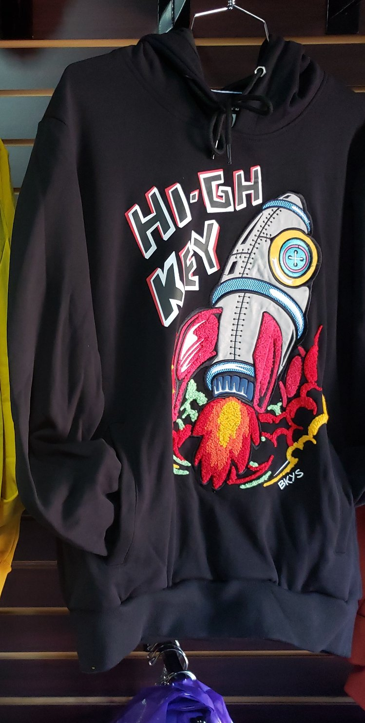 BKYS - HIGH KEY HOOD BLACK