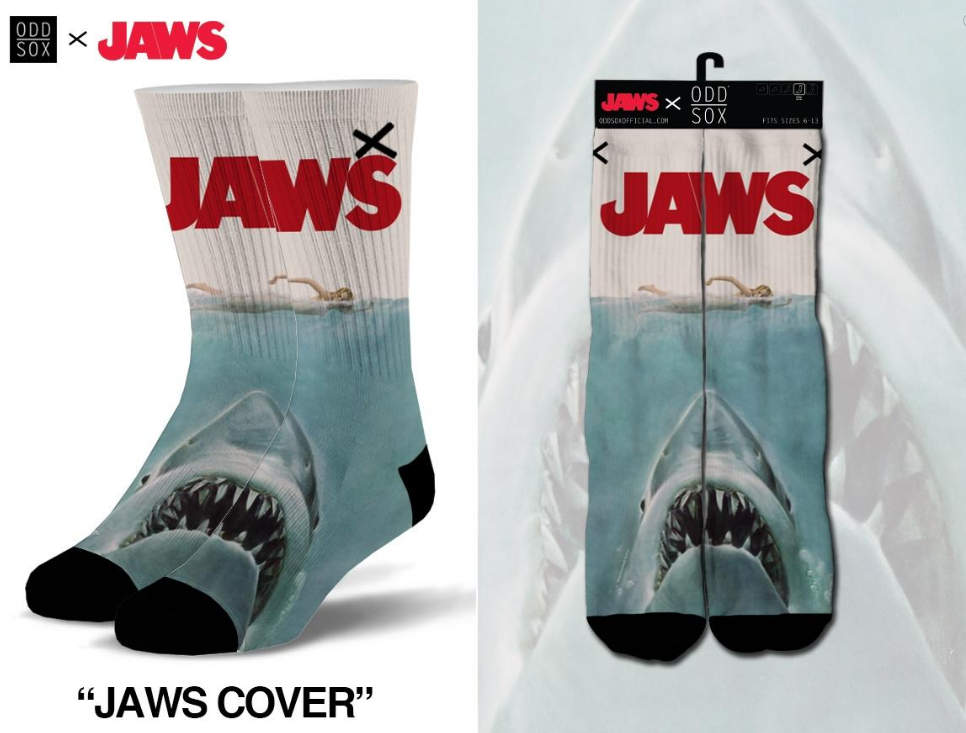 ODDSOX - Jaws Cover (Sublimation) (OSJAWSCOV)