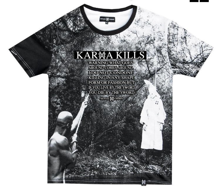 MICHAEL CHERRY - KARMA KILLS TEE (LIMITED EDITION)