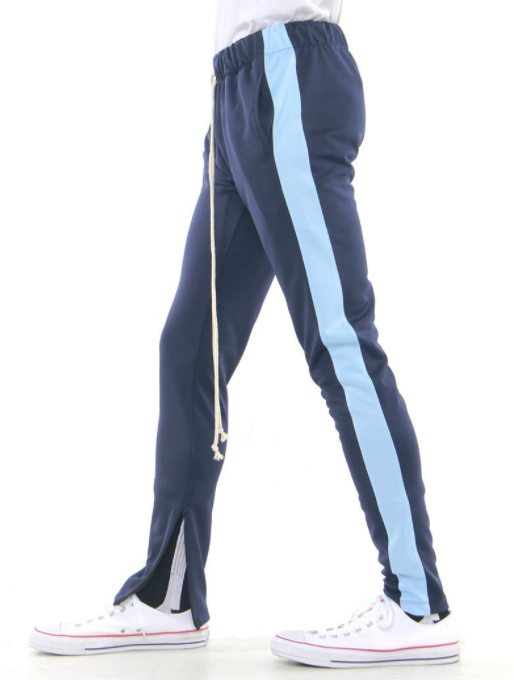 EPTM - TRACK PANTS (EP8246) - NAVY/SKY BLUE
