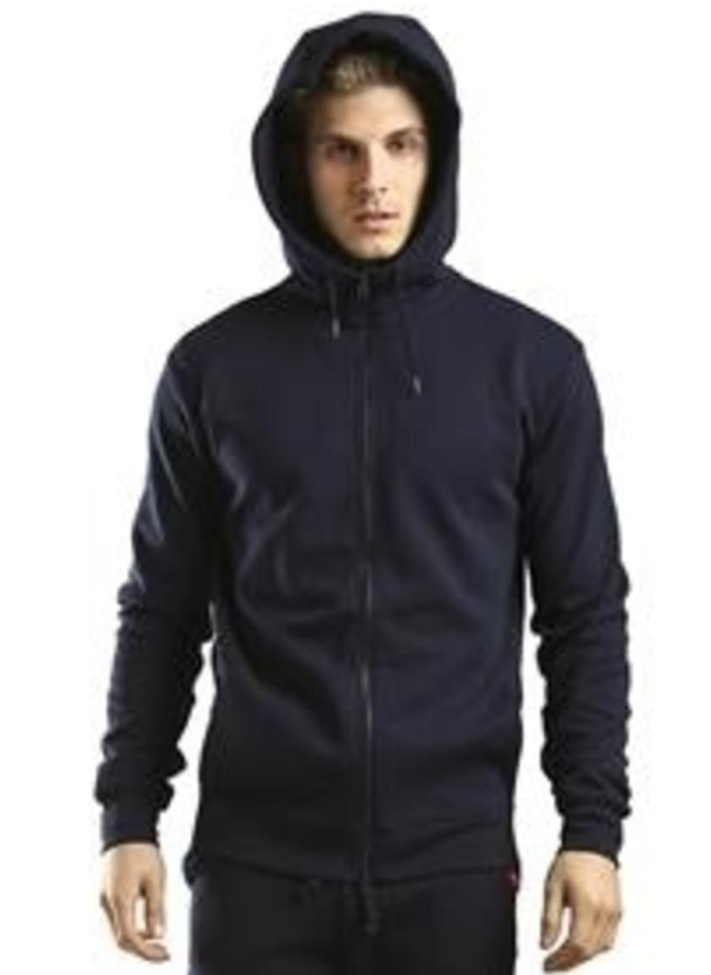 City Lab - FULL-ZIP Hoodie, Performance Fleece (IF016ZP) - Black - cosign1975