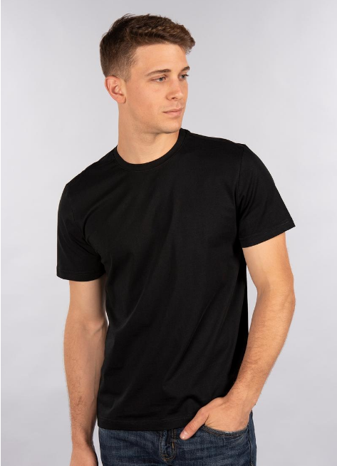 CITY LAB - CITY LAB - PREMIUM T-Shirt, Crew (PR0208R) - BLACK