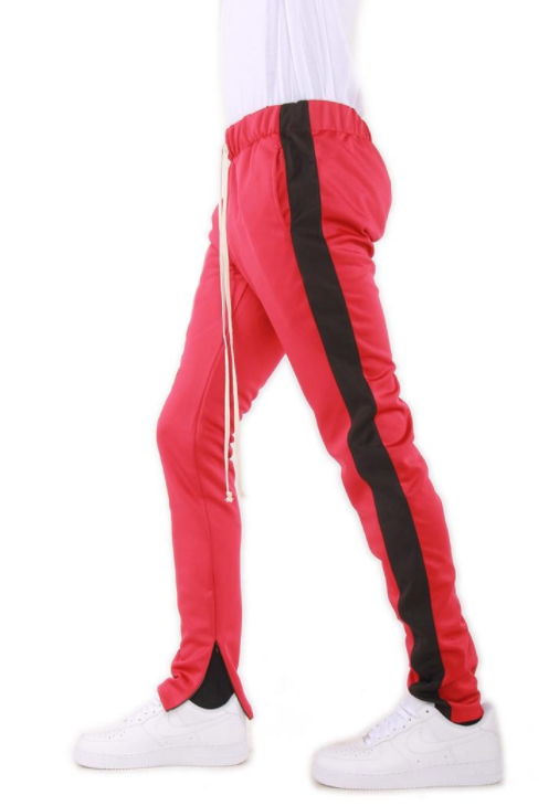 EPTM - TRACK PANTS (EP7971) - RED/BLACK