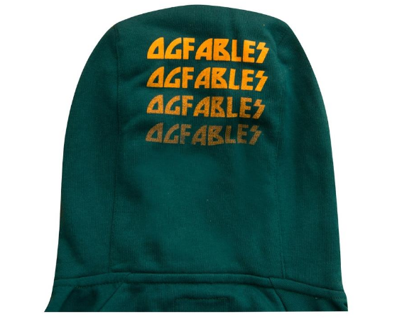 "ORIGINAL FABLES - ""SAVIOR"" PULLOVER HOODIE (H908) - PINE GREEN - cosign1975"