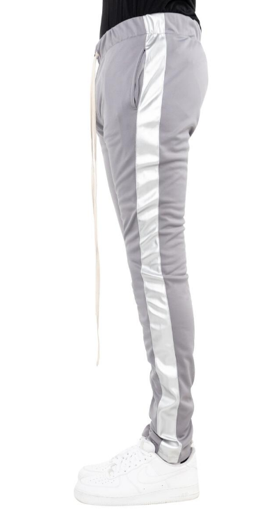 EPTM - TRACK PANTS (EP9247) - GREY VEGAN LEATHER