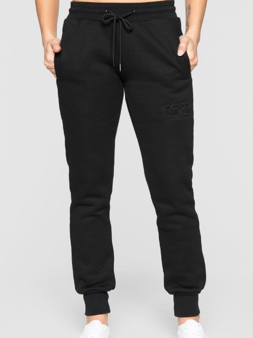 DOPE - Embossed Sweats (D19FW-W002) - BLACK