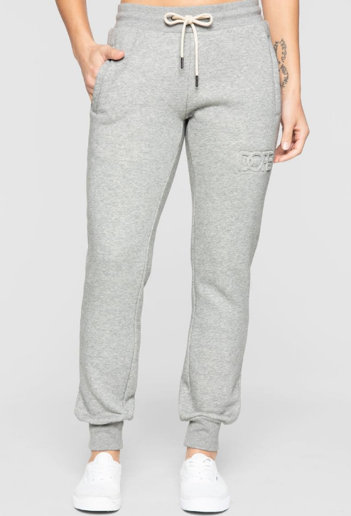 DOPE - Embossed Sweats (D19FW-W002) - GREY - PANTS