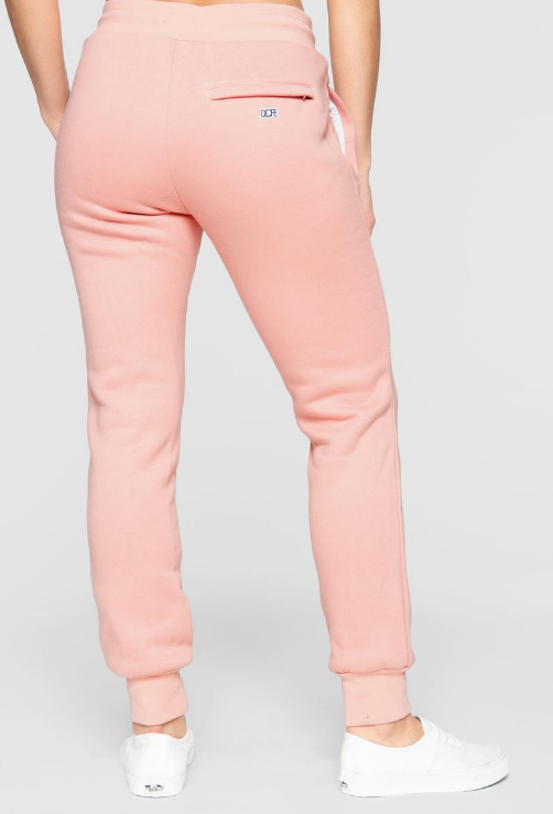 DOPE - Embossed Sweats (D19FW-W002) - PINK - BOTTOMS ONLY