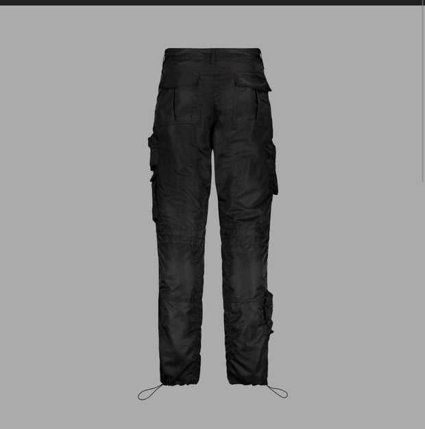 GODSPEED - METAL GEAR CARGO PANTS - BLACK