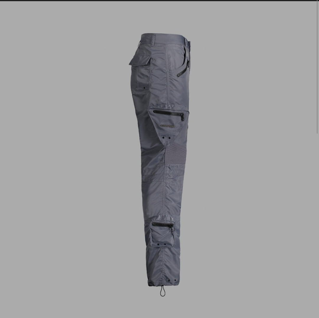 GODSPEED - METAL GEAR CARGO PANTS - GREY