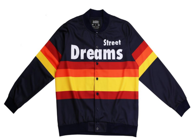 STREET DREAMS - Triple Play Jacket (TP0765NVY) BLUE