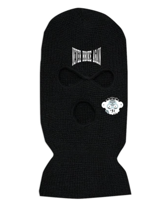 NBA - UPSIDE DOWN MONKEY SKI MASK (UPSIDEDOWNMONKEYSKIMASK)