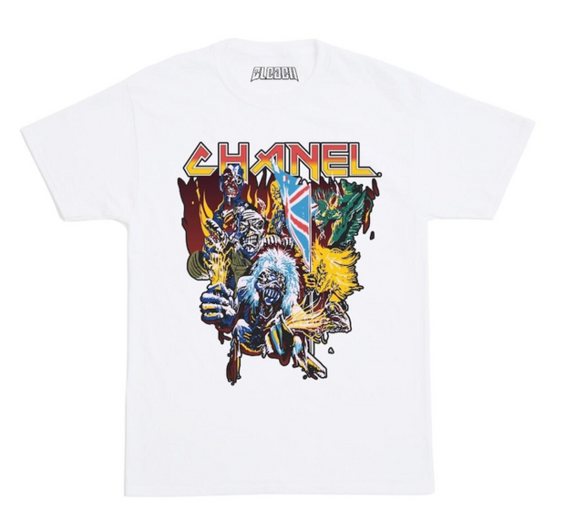 BLEACH - Whole Gang Tee (White) (C23-GANG-TEE-WHT)