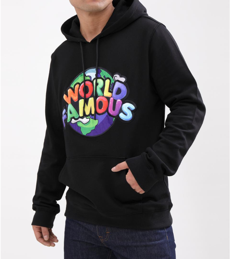 HUDSON - World Famous Hoody (H5053028) - BLACK