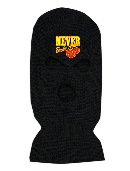 NEVER BROKE AGAIN - BLACKJACK SKI MASK (BLACKJACKSKIMASK)