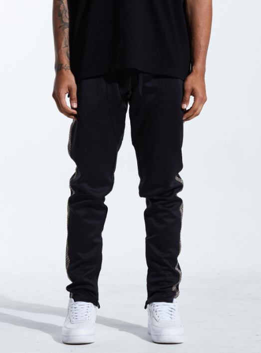 Stark Black Track Pants (KRTRFA18-58) - cosign1975
