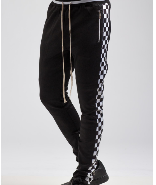 Checkered Track Pant (H4051839) - cosign1975