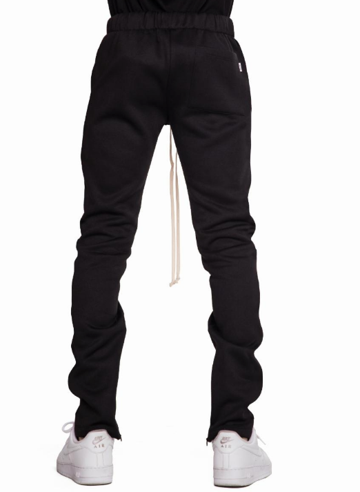 EPTM BLACK FLEECE ZIPPER PANTS (EP8724) - cosign1975