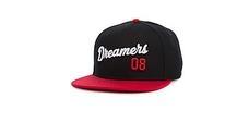 STREET DREAMS  - Closer Snapback (CR0465BLK) - BLK/RED